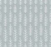 Seamless simple floral pattern Royalty Free Stock Photos