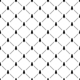 Seamless simple pattern with Christmas tree Royalty Free Stock Photography