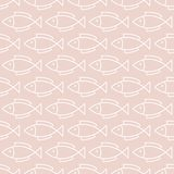 Seamless simple pattern. Vector illustration. Stock Image
