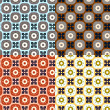 Seamless simple retro geometrical pattern of class Royalty Free Stock Image