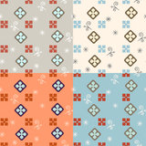 Seamless simple retro geometrical pattern of classic style Royalty Free Stock Image