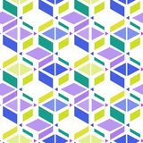 Seamless simple retro geometrical pattern Stock Images