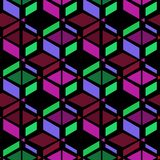 Seamless simple retro geometrical pattern Royalty Free Stock Photos