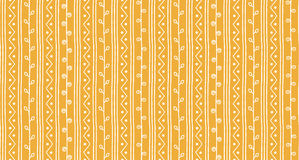 Free Seamless Sketch Vector Pattern. Twigs And Zigzags Background. Hand Drawn Abstract African Style Texture Stock Images - 87155004