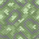 Seamless skin pattern. Green dragon skin. Seamless squama texture pattern Stock Image