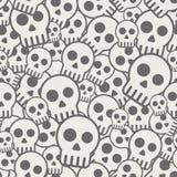 Seamless skull background royalty free illustration