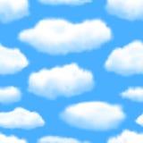 Seamless Sky Background. Stock Photos