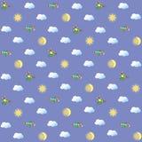 seamless sky för bild Royaltyfri Bild