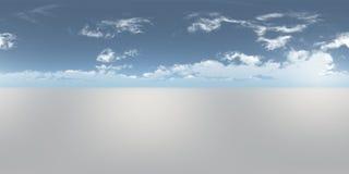 Seamless 360 Sky Panorama stock photo