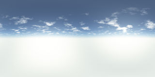 Seamless 360 Sky Panorama Royalty Free Stock Photography