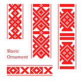 Seamless slavic pattern. Russian medieval style, seamless vector Stock Photos