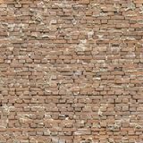 Seamless sloppy Brick Wall. A seamless image of an old and brick wall Royalty Free Stock Photography
