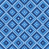 Seamless small blue diamond pattern background. Royalty Free Stock Photography