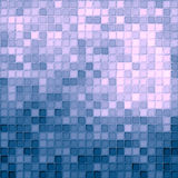 Seamless small blue and pink tiles Stock Photography