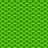 Seamless small green fish scale pattern. Seamless pattern of small colorful green fish scales forming a pattern of reptile and similar animal skin Stock Images