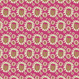 Seamless Smiling Face Pattern Background Royalty Free Stock Photography
