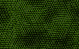 Seamless snake skin pattern. Green color texture royalty free illustration