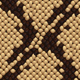 Seamless snake skin texture Stock Images