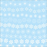 Seamless snowflack texture Stock Images