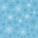 seamless snowflake Royaltyfri Foto