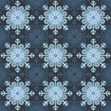 Seamless - Snowflake Royalty Free Stock Image