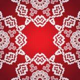 Seamless snowflake background stock photography