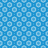 vector seamless snowflake background Stock Photos