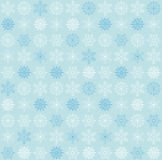 Seamless snowflake background Royalty Free Stock Image