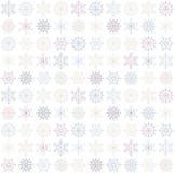 seamless snowflake background Stock Photo