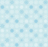 Seamless snowflake background Royalty Free Stock Photography