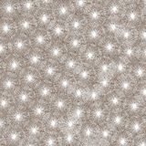 seamless snowflake för modell Arkivfoton