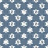 Seamless snowflake pattern. Background design Royalty Free Stock Image