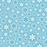 Seamless Snowflake Pattern Background Stock Photography