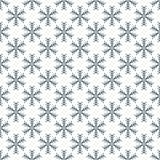 Seamless snowflake pattern. Christmas vector background.  Stock Photos