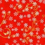 Seamless snowflake pattern Stock Photo