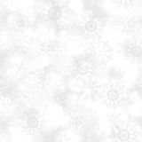 Seamless snowflake patterns Royalty Free Stock Images