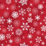 Seamless snowflake patterns Stock Photos