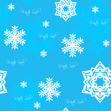 Seamless snowflake sale background Royalty Free Stock Images