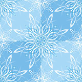 Seamless Snowflake Wallpaper Royalty Free Stock Images