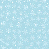Seamless snowflakes Stock Images