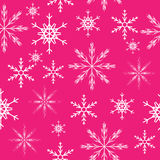 Seamless snowflakes background. Vector Royalty Free Stock Image