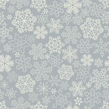 Seamless snowflakes background. Stock Image