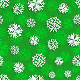 Seamless snowflakes background for winter, christmas theme and holiday cards Royalty Free Stock Image