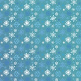 Seamless snowflakes. Snowflakes Christmas vector icons. Snow flake collection graphic art Royalty Free Stock Photos