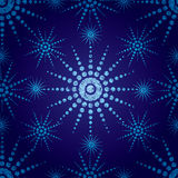 seamless snowflakes för julgrungemodell Arkivbilder