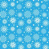 seamless snowflakes för modell arkivbild