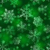 seamless snowflakes för modell Royaltyfria Foton