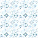 seamless snowflakes för modell Arkivfoto