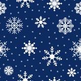 seamless snowflakes för modell background card congratulation invitation vektor illustrationer