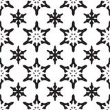 seamless snowflakes f?r modell julen dekorerar nya home id?er f?r garnering till Vektormonokrombakgrund royaltyfri illustrationer